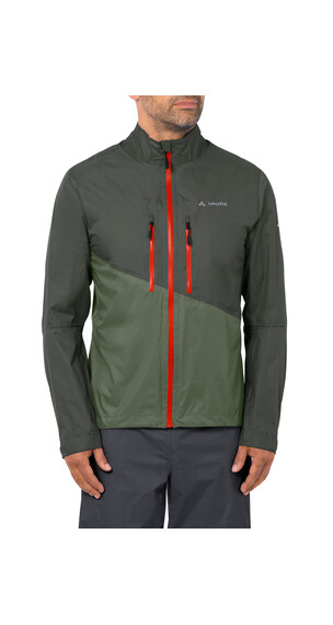VAUDE Tremalzo Rain Jacket Men olive